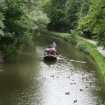 A sail on the canal