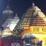 Shri Jagannath Temple -night side view