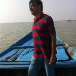 Boat Ride to the entrance of sea mouth in Chilka lake, in a manual mechanical boat