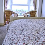 Room 5 - a lovely double room with a sea view from bed!