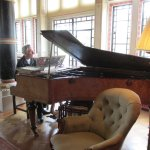 The chance to play piano