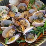 Clams await you with open arms