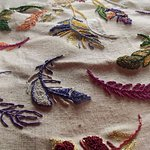 Inspiration contemporaine : Broderie cannetille