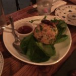Crispy Rice Lettuce Wrap. Excellent start to a dining experience.