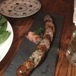 Lemon grass sausage. If you like to eat sausage, this is a must to try!