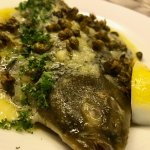 Local Flounder with Capers and Beurre Blanc