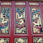 Decorazioni delle porte dei padiglioni del Tempio