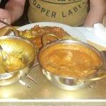 Raj curry, main course