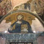 Mosaic in Chora Church, Istanbul.