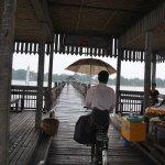Puente de U-Bein, Myanmar