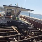 Renovation in full effect; re-doing the bottom deck