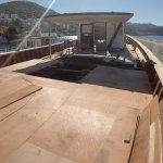 Deco Boat Bar with new bottom decking