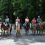 Scenic horseback riding in Gatlinburg, TN - Sugarland Stables