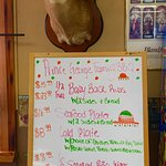 The daily specials