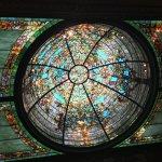 Tiffany dome ceiling.