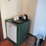 Small fridge without the minibar goodies!