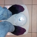 wrong reading bathroom scales