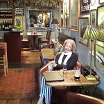 Inside the pub/restaurant