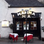 The front of Mamma Mia Restuarant