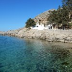 Agios Pavlos Beach (Saint Paul) Foto