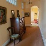 Upstairs Hallway view from Shared Bathroom door