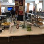 Enterance, breakfast, reception and lobby