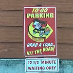 """Loved having the """"to go"""" parking...no pressure (12-1/2 minutes)..."""
