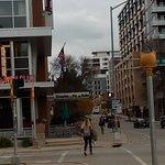 Quiet street, close to University