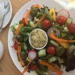 Yet another raw vegan salad