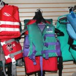 We have life jackets to borrow for all sizes and ages.