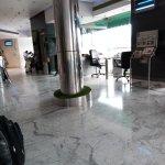 Reception hotel shanti palace