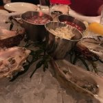 Half dozen oysters