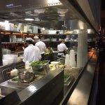 Zozobra's open kitchen