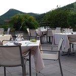 terrasse des repas extérieur