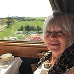 Had a beautiful decadent day onboard the Northern Belle for mum's birthday. Excellent food, very