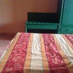 Cubierta de cama muy antigua.