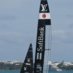 The CB was a great based to view the Americas Cup boats from the Shore