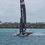 Oracle USA taken from the Hamilton to DockYard Ferry
