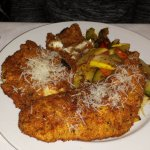 Parmesan Crusted Cod & Sauteed Vegetables