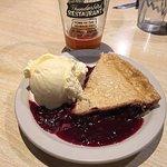 Mixed berry pie at Thunderbird Restaurant