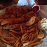 Shrimp and Fish - good, but not piping hot. The fries were cold when they came.