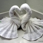 Swan Towel creation