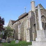 St Mary`s Parrish Church ..On my audio tour.