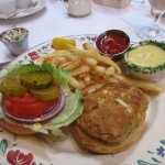 Crab cake with Hollandaise sauce, fantastic, little to no filler in the crab cake
