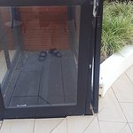 The wheelchair lift to the pool area has been broken for months.