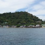 Apo Island: View from boat