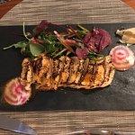 cadre très agréable et cuisine très raffinée mêlant traditionnel et exotique! Une adresse except