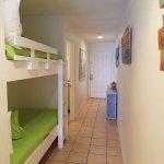 110B Hallway with bunk beds
