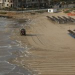 La Zenia beach is thoroughly cleaned every morning - immaculate!
