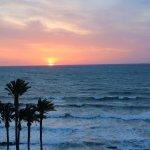 Sunrise, La Zenia, from the balcony
